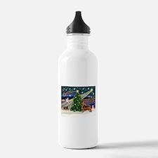 XmasMagic/Irish Setter Water Bottle