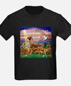 Autumn Angel / Irish Setter T