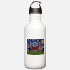 Starry Night Irish Setter Water Bottle