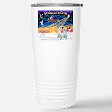 XmasSunrise/2 Irish Wolf Travel Mug