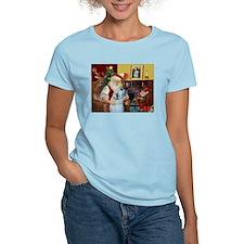 Santa's Irish Wolfhound T-Shirt