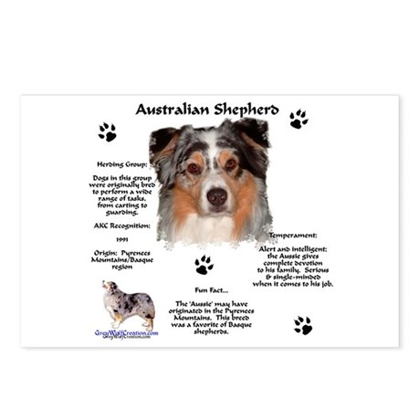 Aussie 1 Postcards (Package of 8)
