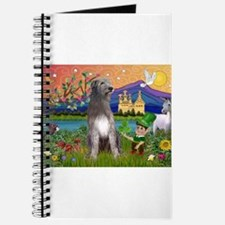 Irish Elf & Irish Wolfhound Journal