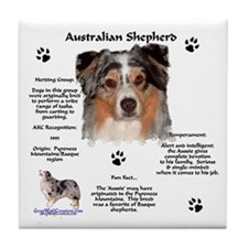 Aussie 1 Tile Coaster