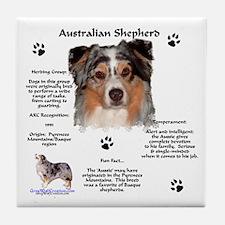 Aussie 1 Tile Coaster