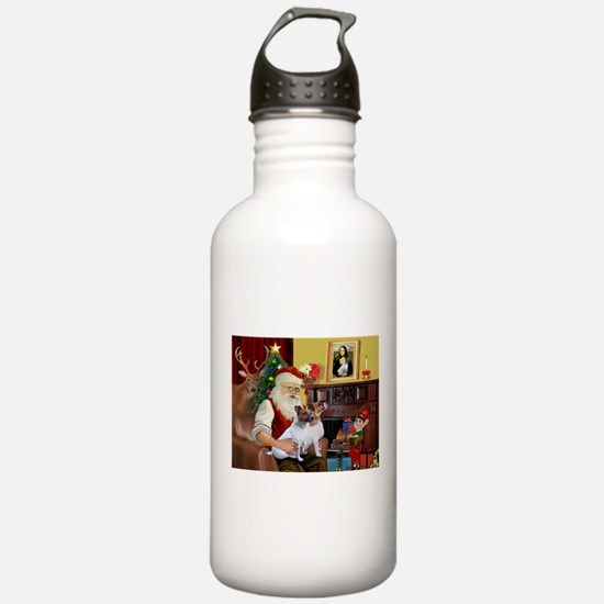 Santa's JRT Water Bottle