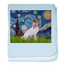 Starry Night / JRT baby blanket