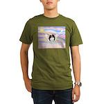 Japanese Chin Angel Organic Men's T-Shirt (dark)