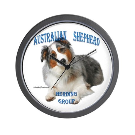 Aussie 4 Wall Clock