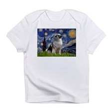 Starry Night & Keeshond Infant T-Shirt