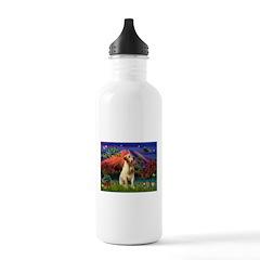 Mt Fuji & Yellow Lab Water Bottle