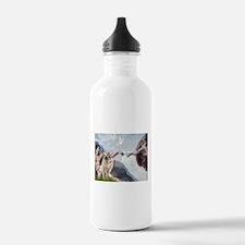 Creation & Yellow Lab Water Bottle