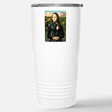Mona's Black Lab Stainless Steel Travel Mug