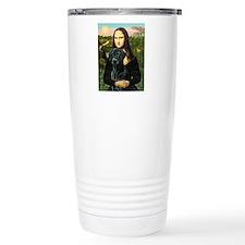 Mona's Black Lab Travel Mug