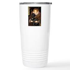 The Queen's Black Lab Travel Mug