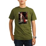 Accolade/Yellow Lab Organic Men's T-Shirt (dark)