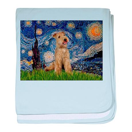 Starry Night Lakeland T. baby blanket