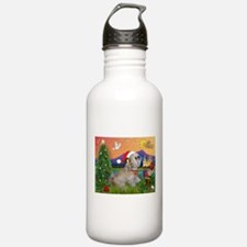 Xmas Fantasy/Lhasa (#7) Water Bottle