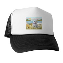 Rowboat / Maltese (R) Trucker Hat