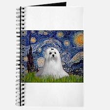 Starry Night & Maltese Journal
