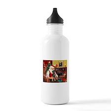Santa'sMiniature Pinscher Water Bottle