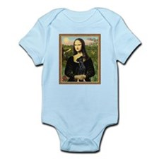 Cute Jean fitzgerald %2b miniature pinscher Infant Bodysuit