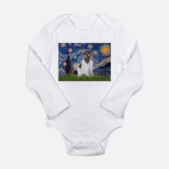Starry Night / Landseer Long Sleeve Infant Bodysui