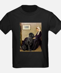 Whistler's Mother & Newfie T