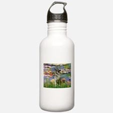 Lilies & Elkhound Water Bottle