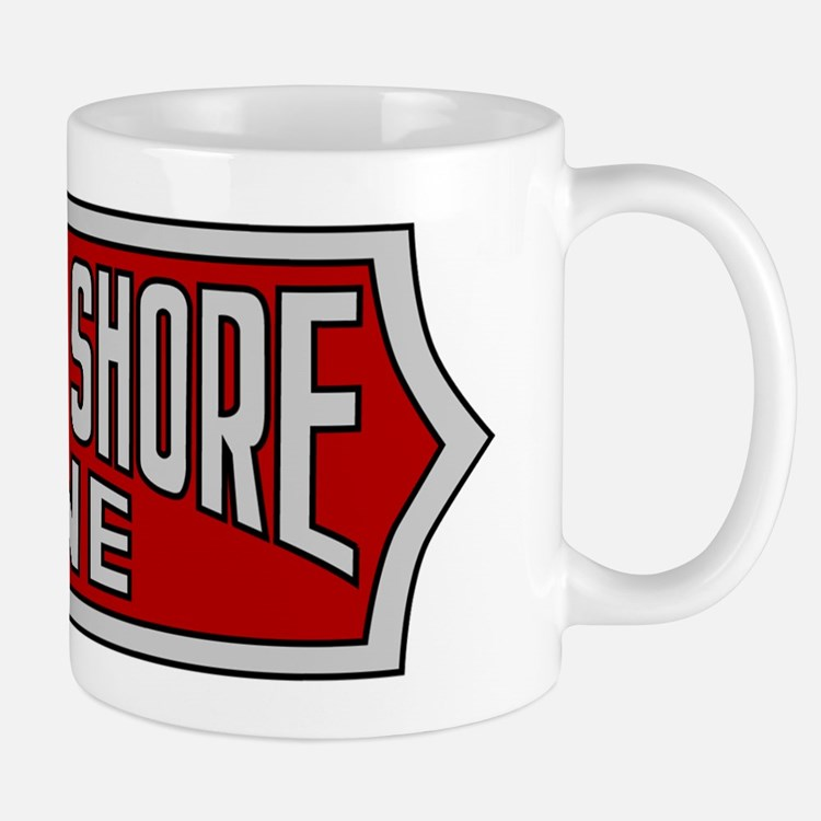 Large 15 oz. Mug with Silverliner NSL Logo Mugs
