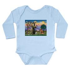 St Francis & Nova Scotia Long Sleeve Infant Bodysu