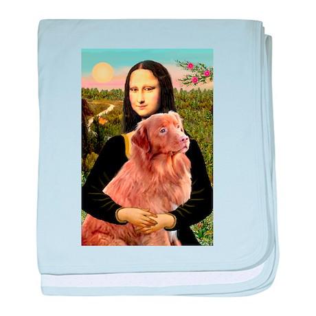 Mona's Nova....Retriever baby blanket