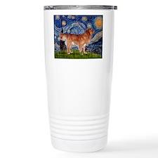 Starry Night Nova Scotia Travel Mug