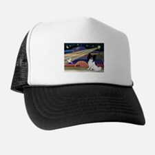 Xmas Star Papillon (#1) Trucker Hat