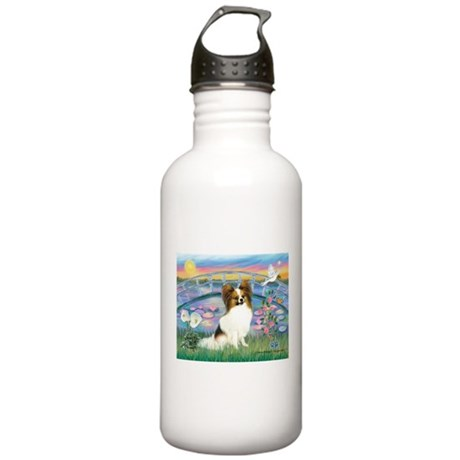 Lilies / Papillon (f) Stainless Water Bottle 1.0L