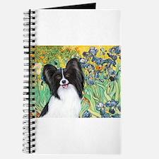 Irises & Papillon Journal