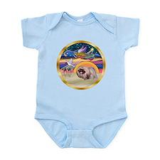XmasStar/Pekingese #10 Infant Bodysuit