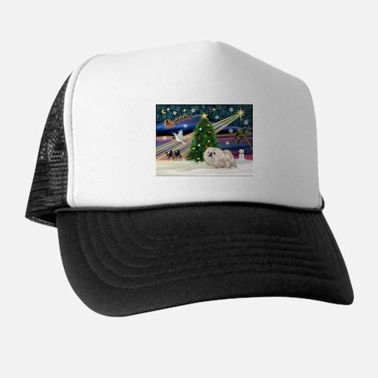 XmasMagic/Pekingese (4w) Trucker Hat