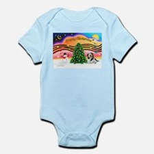 XmasMusic2/PBGV #5 Infant Bodysuit