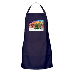 XmasMusic2/PBGV #5 Apron (dark)