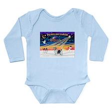 XmasSunrise/PBGB #10 Long Sleeve Infant Bodysuit