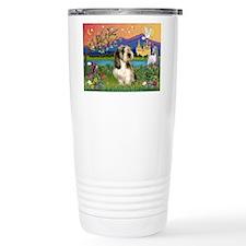 PBGV in Fantasy Land Travel Coffee Mug