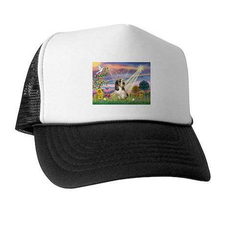 Cloud Angel & PBGV Trucker Hat