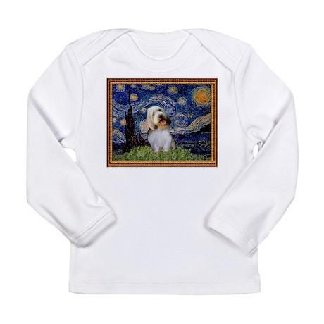 Starry Night PBGV Long Sleeve Infant T-Shirt