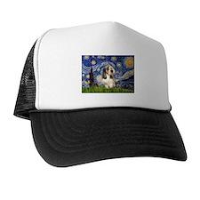Starry Night PBGV (#4) Trucker Hat