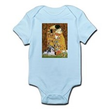 The Kiss / Petit Basset #8 Infant Bodysuit