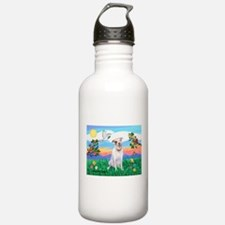 Bright Life / Pit Bull Terrie Water Bottle