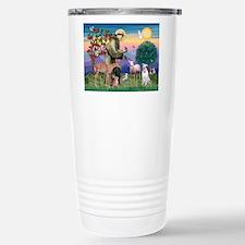 St Francis / Pitbull Travel Mug