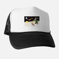 Night Flight/Pomeranian #2 Trucker Hat
