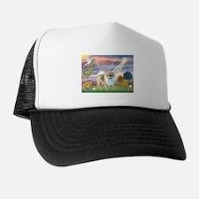 Cloud Angel Pom (#9) Trucker Hat